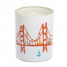 R. Nichols Coast Glass Candle