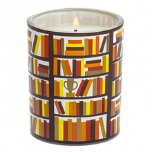 R. Nichols Read Glass Candle