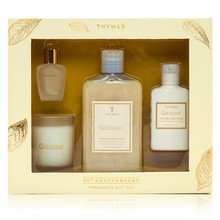 Thymes Goldleaf Collection 25th Anniversary Fragrance Gift Set