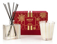 Nest Fragrances Holiday Classic Candle & Diffuser Gift Set