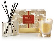 Nest Fragrances Birchwood Pine Classic Candle & Diffuser Gift Set