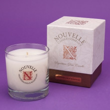 Nouvelle Candle Company Mediterranean Rosemary Signature Glass Candle