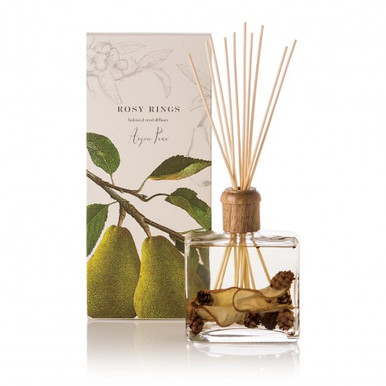 Rosy Rings Anjou Pear Botanical Reed Diffuser