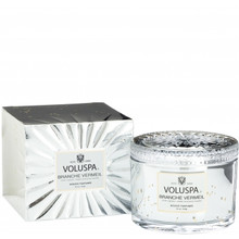 Voluspa Vermeil Collection Branch Vermeil Boxed Candle