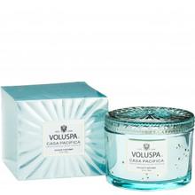 Voluspa Vermeil Collection Casa Pacifica Boxed Candle