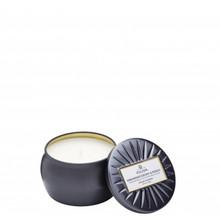 Voluspa Vermeil Collection Makassar Ebony & Peach Decorative Tin Candle