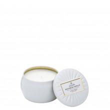Voluspa Vermeil Collection Bourbon Vanille Decorative Tin Candle