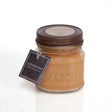 Scentations Home Fragrance Papaya & Bamboo Mason Jar Candle