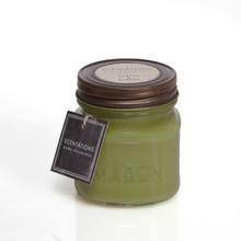 Scentations Home Fragrance Green Papaya & Bamboo Mason Jar Candle