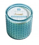 Hillhouse Naturals Salt Swept Glass Candle