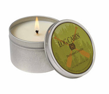 Hillhouse Naturals Log Cabin Travel Tin Candle