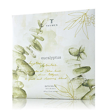 Thymes Eucalyptus Collection Bath Salts Envelope