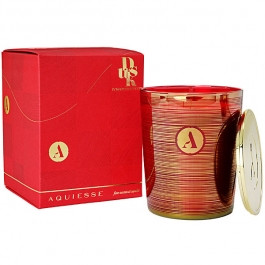 Aquiesse Holiday Collection Pomegranate Dusk Glass Candle