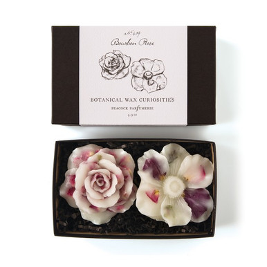 Peacock Parfumerie Bourbon Rose Flowers Wax Curiosity