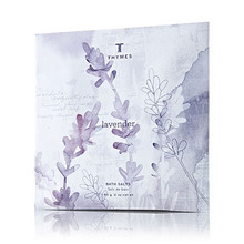 Thymes Lavender Collection Bath Salts Envelope