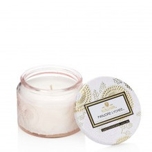 Voluspa Japonica Collection Panjore Lychee Small Glass Jar Candle