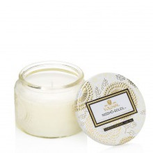 Voluspa Japonica Collection Nissho-Soleil Small Glass Jar Candle
