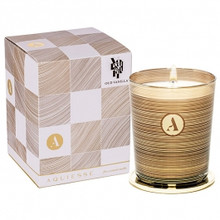 Aquiesse Mindful Collection Oud Vanilla Glass Candle With Lid