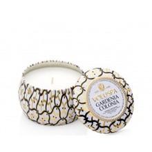 Voluspa Maison Blanc Collection Gardenia Colonia Travel Tin Candle