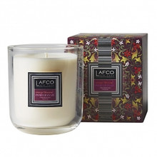 LAFCO Present Perfect Collection Orange Blossom & Pomegranate Glass Candle