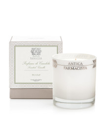 Antica Farmacista Fig Leaf Platinum Round Glass Candle