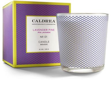 Caldrea No. 1 Lavender Pine Glass Candle