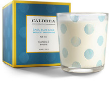Caldrea No. 14 Basil Blue Sage Glass Candle