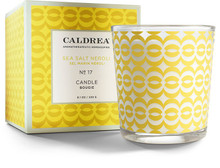 Caldrea No. 17 Sea Salt Neroli Glass Candle