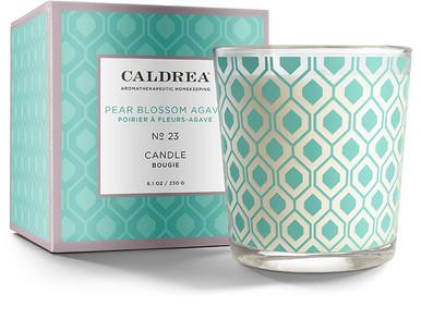 Caldrea No. 23 Pear Blossom Agave Glass Candle