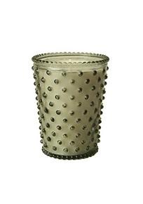 Simpatico No. 33 Nag Champa Hobnail Glass Candle