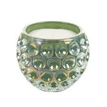 Opaline Candles Emerald Orb Glass Candle