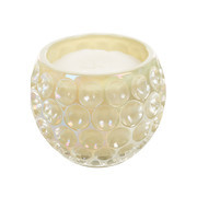Opaline Candles Gold Orb Glass Candle