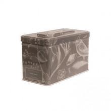 K. Hall Designs Earl Grey 3-Wick Printed Tin Candle