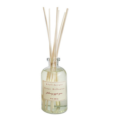 K. Hall Designs Johnny Apple Spice Reed Diffuser