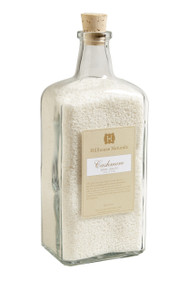 Hillhouse Naturals Cashmere Bath Salts in Glass Bottle