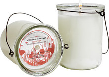 Hillhouse Naturals Geranium Mosquito Repellant Hanging Candle