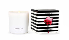 Biren & Co. Lotus Vanilla Boxed Candle Tulip Collection