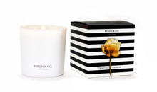 Biren & Co. Tobacco Vanilla Boxed Candle Tulip Collection