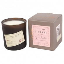 Paddywax Jane Austen Library Boxed Candle