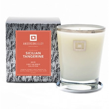 Anderson Lilley Silican Tangerine Glass Candle