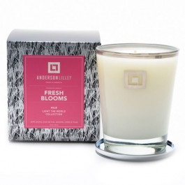 Anderson Lilley Fresh Blooms Glass Candle