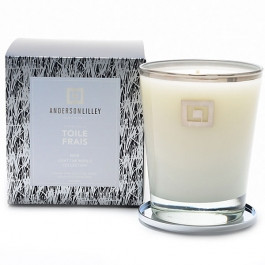 Anderson Lilley Toile Frais Glass Candle