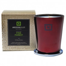 Anderson Lilley Pine Forrest Glass Candle Winter Collection