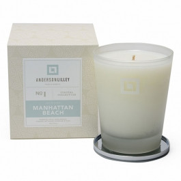 Anderson Lilley Manhattan Beach Glass Candle