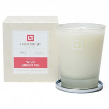 Anderson Lilley Wild Green Fig Glass Candle