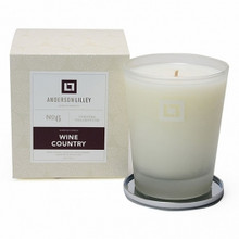 Anderson Lilley Wine Country Glass Candle