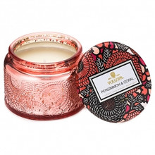 Voluspa Japonica Collection Persimmon & Copal Limited Edition Small Glass Jar Candle