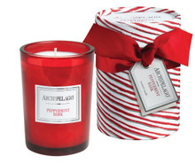 Archipelago Peppermint Bark Boxed Candle