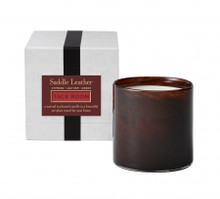 LAFCO Saddle Leather/Tack Room House & Home Glass Candle
