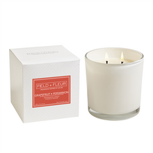 Hillhouse Naturals Grapefruit Persimmon 2-Wick Glass Candle
